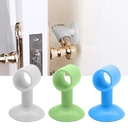 2 Pcs Anti Collision Silicone Door  Handle Lock Silencer