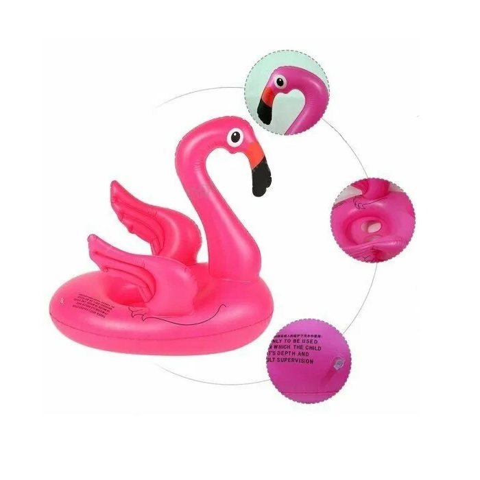 Flamingo Kids Swimming Ring Seat Boat