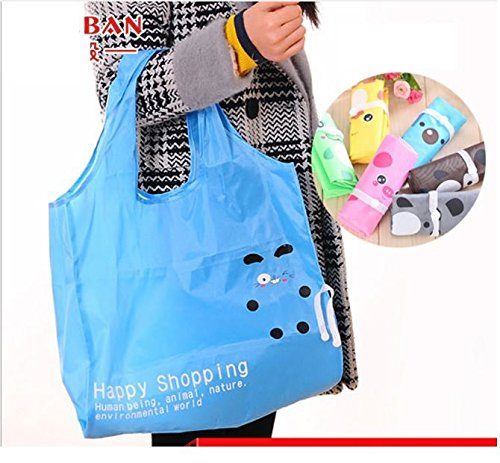 Happy Shopping Bag (Random Print)