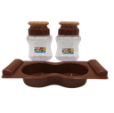 2 Pcs Kurkure Salt & Pepper With Tray