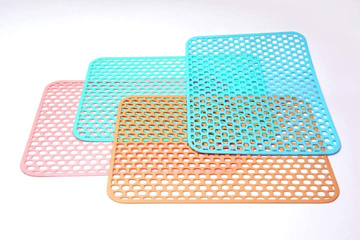 3 Pcs Large Multipurpose Mat (Random Colour)
