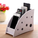 4 Compartment MDF Remote Stand