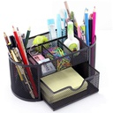 9 compartment metal desktop stand