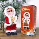Christmas Decorations Electric Shaking His Head Dance Santa Claus Music Christmas Children's Toys