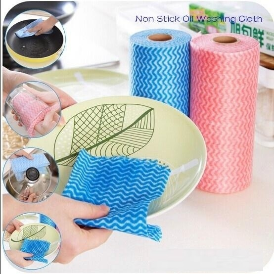 40 Pulls Disposable Cleaning Tissue Roll