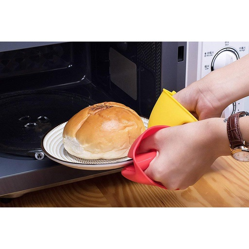 [HL0028] Silicone Oven Gloves - 2 Pc Set