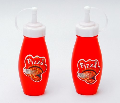 [HL0640] Small Pizza Ketchup Bottle (Pack Of 2)