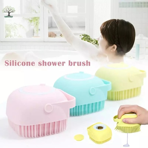 [HL1878] Soft Silicone Bath Massage Brush - Big Size (Random Color)