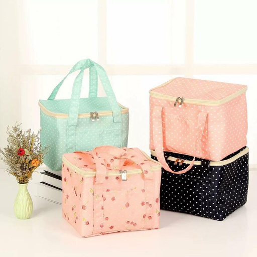 [HL0076] Square Insulated Lunch Bag (Random)
