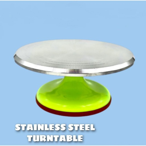 [HL1945] Stainless Steel Turntable (Random)