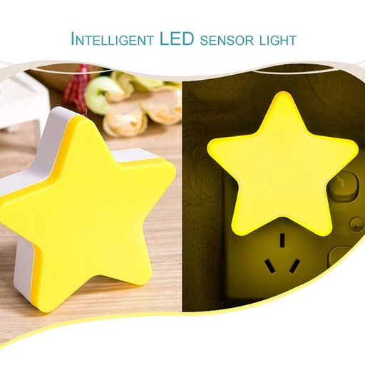 [HL1682] Star Light Sensor Lamp