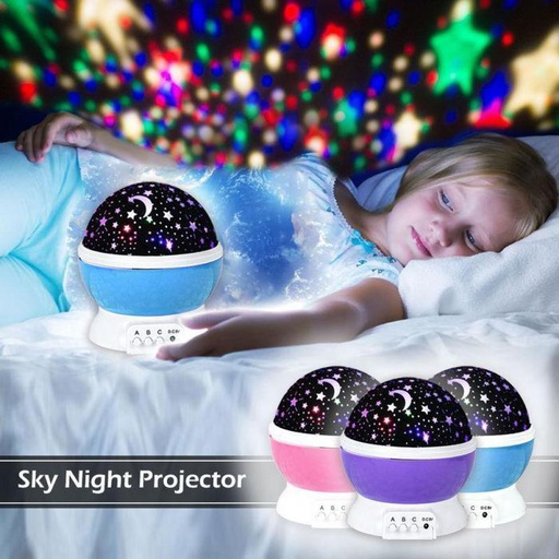 [HL0476] Star Master Dream Rotating Projection Lamp