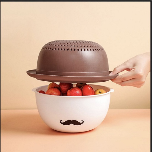 [HL1889] Strainer With Basket (Random Colors)