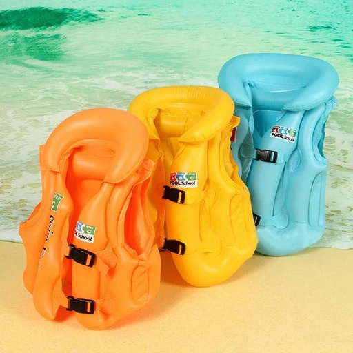 Swimming Vest Jacket (Random Colors)