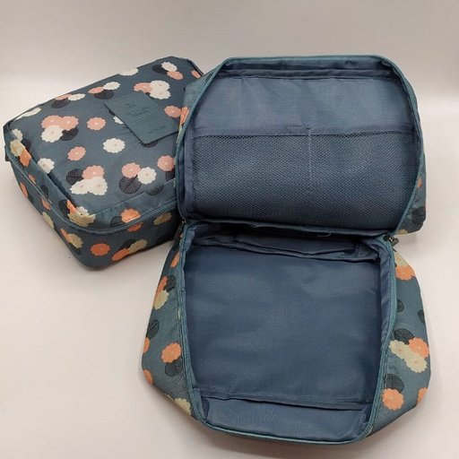 [HL2095] 2 Pcs Travel Toiletry Pouch
